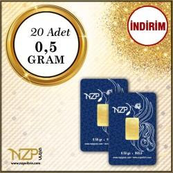 10 Gram (20 x 0.5) Gram Altın