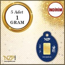 5 Gram (5 x 1) Gram Altın GRAM ALTIN