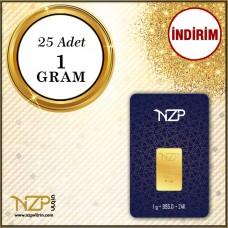 25 Gram (25 x 1) Gram Altın GRAM ALTIN