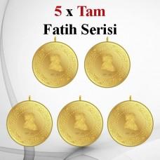 5 Adet Kulplu Tam - Fatih Altını ÖZEL SERİSİ